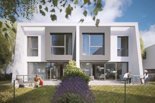 Wohnen im Grünen - Doppelhaushälfte in Floridsdorfer Grünruheoase - Haustyp C