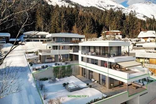 4 Zimmer Terrassenwohnung mit großer Gartenfläche