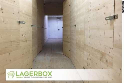 Lagerboxen in Hallein (1,5 m² - 10 m²)