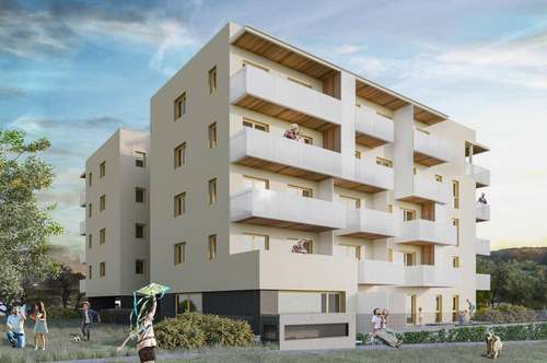 !!! P R O V I S I O N S F R E I !!! 1 Zimmerwohnung/Garconniere direkt in Hart bei Graz - Neubau - auch andere Grundrisstypen verfügbar