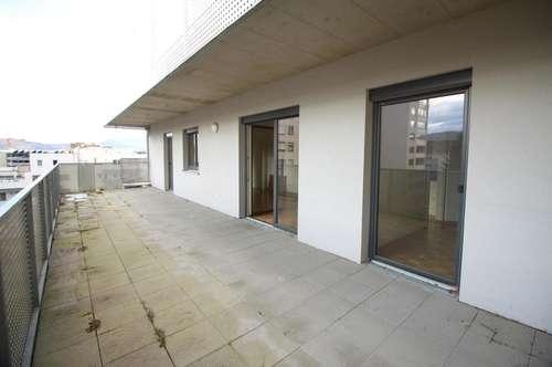Penthouseähnliche 4 Zimmerwohnung in der Josefigasse (Lendplatz) mit 40 m² Terrasse!