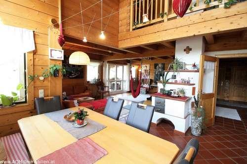 Großzügige Wohnung in einem Vollholzhaus in St. Johann im Pongau