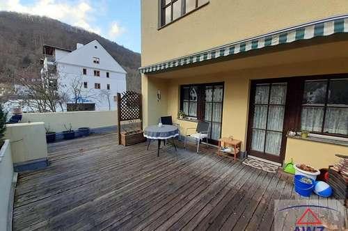 Sehr schöne Eigentumswohnung in Krems/Rehberg mit riesiger Terrasse!