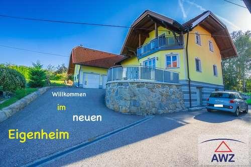 Ein Haus mit Herz in einer Landschaft zum Verlieben!
