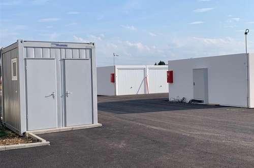 Garagen zu Mieten zwischen Hörsching und Marchtrenk - neuer Garagenpark