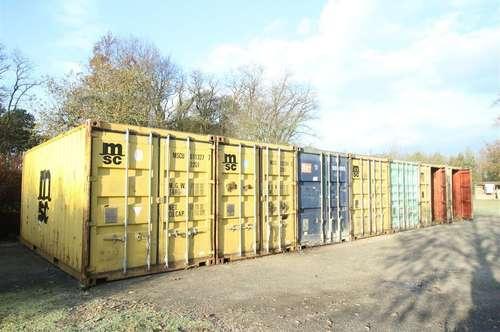 Containerflächen - flexibel, ohne Bindung, ohne Kaution, provisionsfrei
