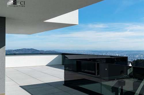 Hochwertige Terrassenwohnung mit Panoramablick