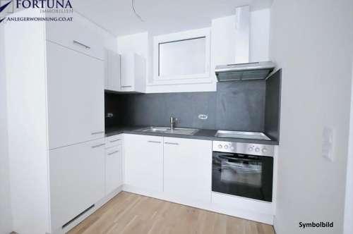 Top ausgestattete 2 Zi-Wohnung mit 49m² Wfl. und Balkon - ERSTBEZUG in UNI-Nähe