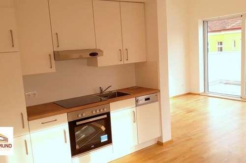 Terrassenwohnung für Kleinfamilien, Erstbezug & Ruhelage inklusive!