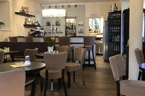 Cafe zur Pacht - modern, hell und mit Liebe ausgestattet