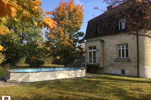 Traumvilla mit Pool und großem Garten in Zentrumsnähe - Mödling