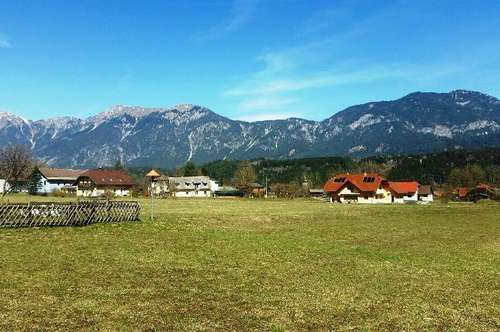 Sonnige Grundstücke in ebener Lage in Vorderberg
