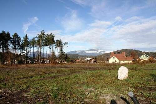 Fünf ebene Grundstücke in Ledenitzen nahe dem Faaker See zum Verkauf