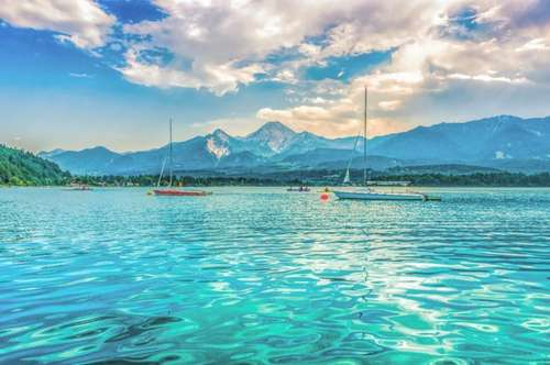 **Drobollach am Faaker See- Wunderschöne Luxuswohnung mit privatem Seezugang**