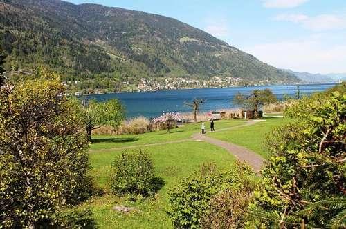 **Ossiacher See: Traumhafte Ferienwohnung mit eigenem Seezugang**