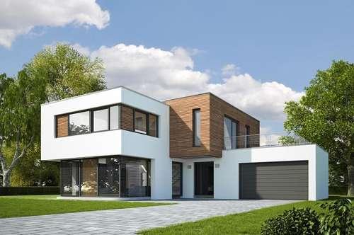 !!! AKTIONSPREIS !!! Ziegel Massivhaus Typ Flachdach Modern!!!