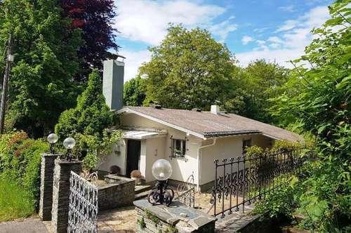 NEUER PREIS! Wörther See:alte Villa mit großem Grundstück und teilweise Seeblick