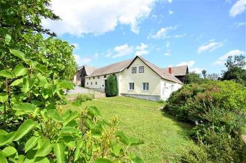 Reizendes Bauernhaus mit Innenhof und  Nebengebäuden auf großem Grundstück- Nähe Grafenschlag und Zwettl