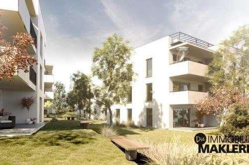 Traumhafte 3 Zimmerwohnung mit Eigengarten in Linz-Urfahr! NEUBAU!