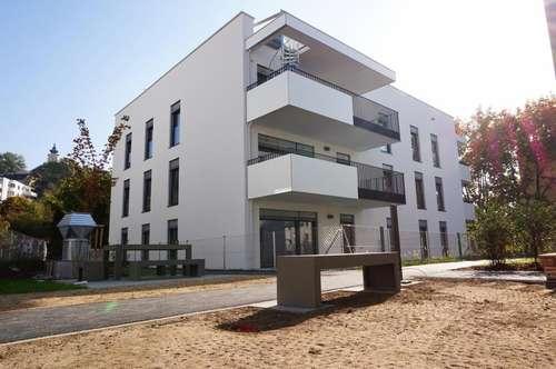 NEUBAU! | Wunderschöne 4 Zimmerwohnung mit Eigengarten in Linz-Urfahr!