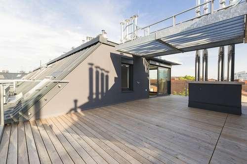 Die Stadt im Blickfeld - Schicke Dachgeschoss Maisonette mit großzügiger Freifläche