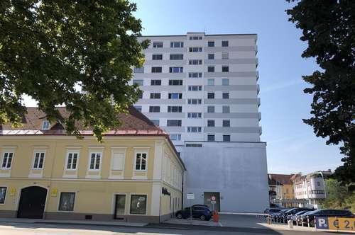 möblierte Zweizimmerwohnung mit Panoramablick im Stadtzentrum Klagenfurt