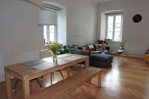 Stilvolle Altbauwohnung in zentraler Lage in der Innenstadt Klagenfurt