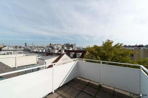 Pärchen-Wohnung in bester Lage beim Wallensteinplatz / Augarten mit großer Terrasse