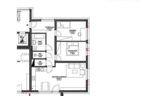 WOHNANLAGE HOLZHAUSEN - MIETKAUF Wohnung TOP 9 / 2.OG (166-90)