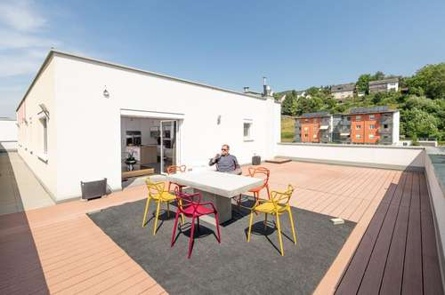 Penthouse DELUXE - mit traumhafter Dachterrasse!!