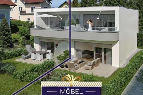 AKTION - 5.000€ MÖBELGUTSCHEIN INKLUSIVE - 95,85m² Maisonettewohnung mit Eigengarten - PROJEKT TRAUNSCHIFF GMUNDEN