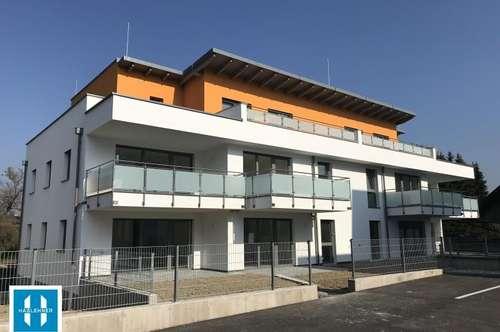 73m² Neubauwohnung mit Kinderzimmer und Gartennutzung zu vermieten - Wohnen und Arbeiten in Bruck Waasen