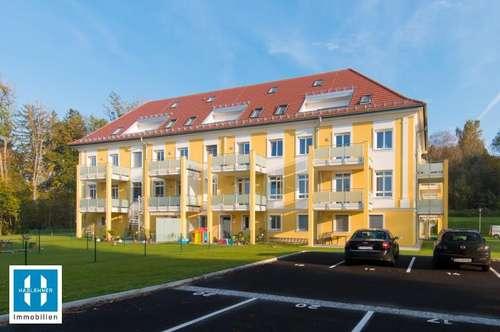 traumhafte, helle 118qm Neubau- Maisonettewohnung mit kleiner Dachterrasse im Schloss Hochscharten zu vermieten