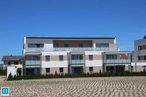 GOOD LIVING - Traumhafte 74,98qm Penthouse-Wohnung mit einer großen und einer kleinen Dachterrasse am Ortsrand von Eferding zu vermieten