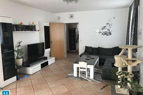 geräumige, teilmöblierte 82m² Wohnung mit großer Loggia im Zentrum von Gunskirchen zu vermieten
