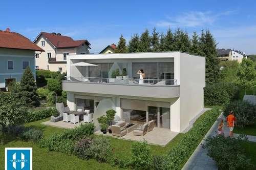 95,85m² Doppelhaushälfte mit Eigengarten - PROJEKT TRAUNSCHIFF GMUNDEN