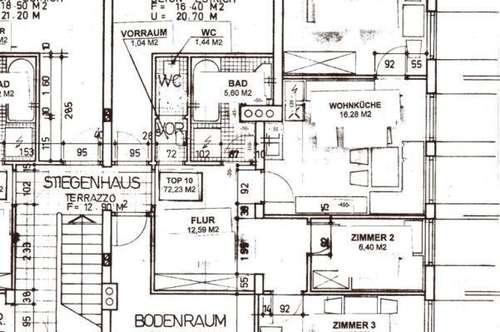 Günstige 3-Raum Wohnung in Dorfgastein