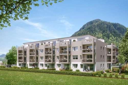 Preiswerte 2-Raum Neubau-Mietwohnung in St.Martin/Lofer