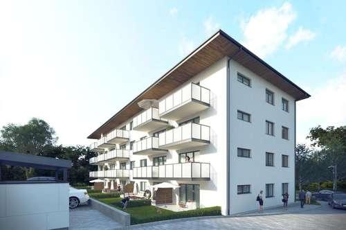 Sonnige 3-Raum Neubau-Mietwohnung in Mühlbach/Hkg.