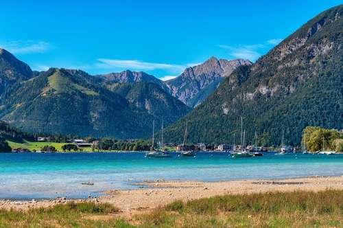 Wohnen am Achensee - Großzügige 3 Zimmer-Wohnung mit See- und Bergblick
