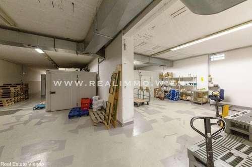Zentral gelegene Lagerräume mit Kühl - und Gefrierzellen
