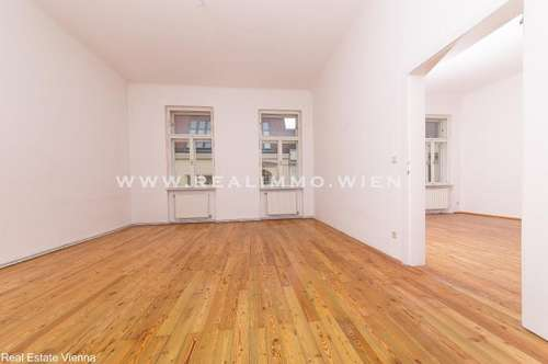 Großzügig angelegte 3 1/2 Zimmer Wohnung mit kleinem Balkon - WG geeignet