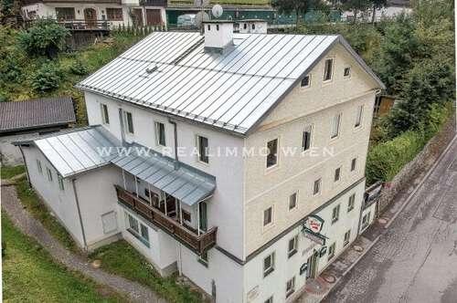 Pension / Apartmenthaus / Kurhaus / Hotel - Restaurant sowie Baugrundstück - VIDEO