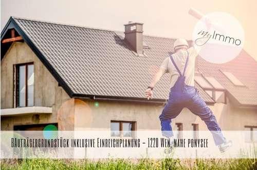 bewilligtes Bauträgergrundstück- 1220 Wien, nahe Ponysee