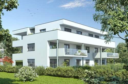 Dachgeschoßwohnung mit 2 Balkonen