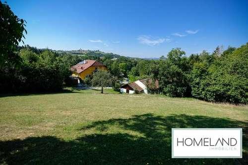 Traumhaftes Grundstück mit geplanter Luxus-Villa in rarer Top-Lage