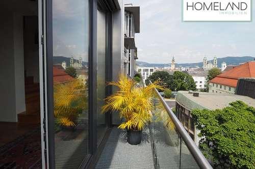Dachterrassentraum mit Altbau-Charme an der Promenade