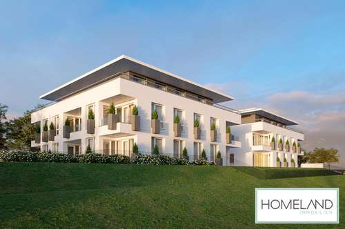BAUBEGINN ERFOLGT: Charmante Zwei-Zimmer Neubauwohnung mit Loggia