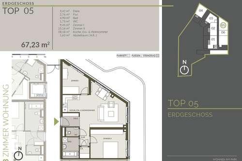 3-Zimmerwohnung Nähe Citypark - Provisionsfrei