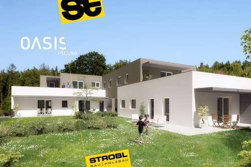 Traumhafte Terrassenwohnung - 4 Zimmer - 90 m2 - 1. OG - provisionsfrei - Erstbezug